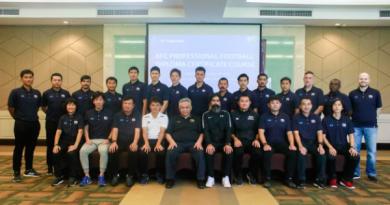 สมาคมฟุตบอลจัดอบรมโค้ชหลักสูตร 'Pro' License รุ่นที่ 2 ณ จังหวัดชลบุรี