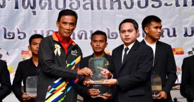 สมาคมกีฬาฟุตบอลแห่งประเทศไทย ม.กรุงเทพธนบุรี