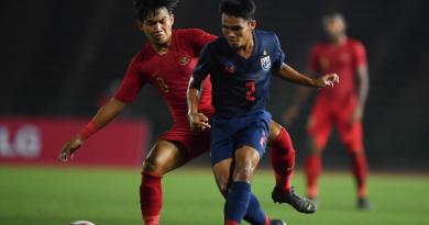 อินโดนีเซีย รุ่นอายุไม่เกิน 22 ปี ทีมชาติไทย