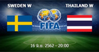 Sweden W - Thailand W