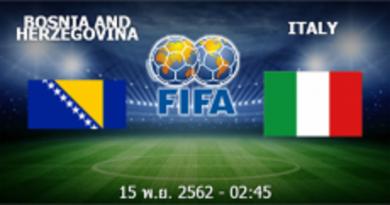 Bosnia - อิตาลี