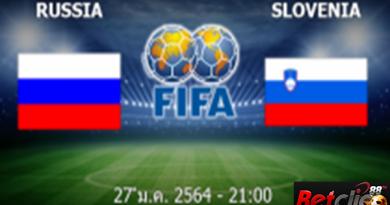 รัสเซีย - สโลวีเนีย