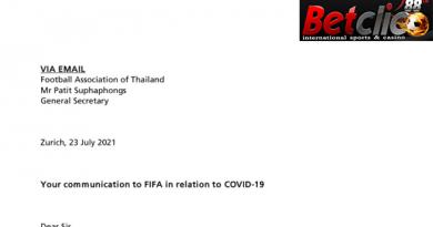 FIFA อนุมัติ
